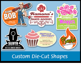 Custom Die-cut Shapes